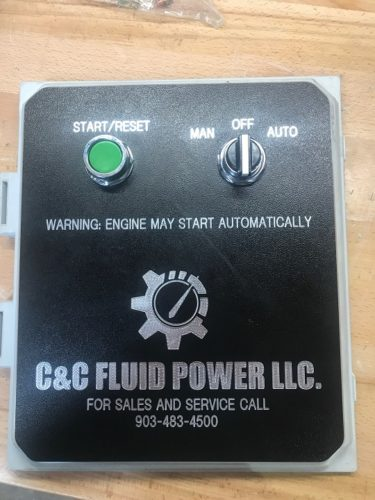 C&C Fluid Power - BOP closing unit auto start box