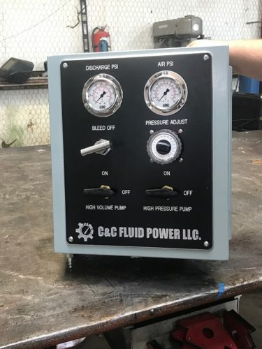 C&C Fluid Power - BOP test box