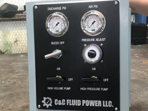 C and C Fluid Power BOB Test Systems