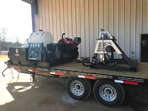 C and C Fluid Power Strapping Trailer I