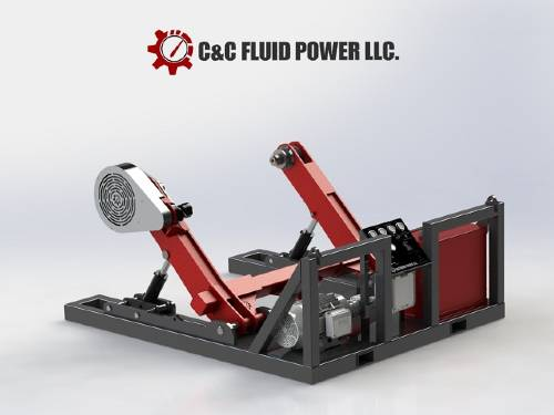 SP Offshore Reel C and C Fluid Power