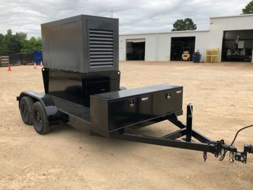 Manufactured Custom Trailer by C and C Fluid Power