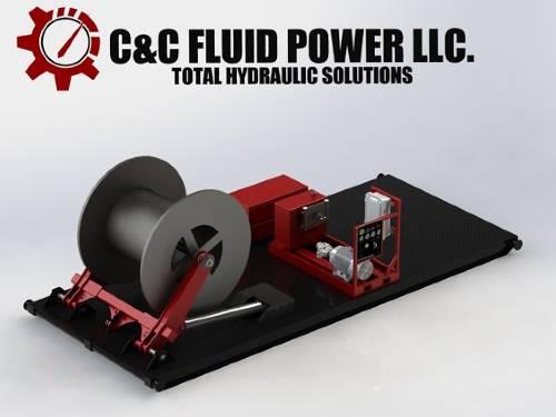 Skid Mounted ESP Unit C and C Fluid Power