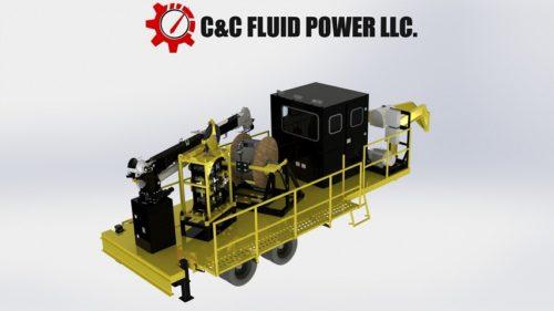 C & C Fluid Power - capillary trailer rendering