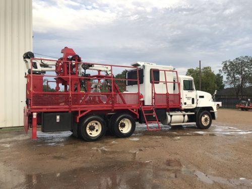 C & C Fluid Power - capillary truck after refurbishing