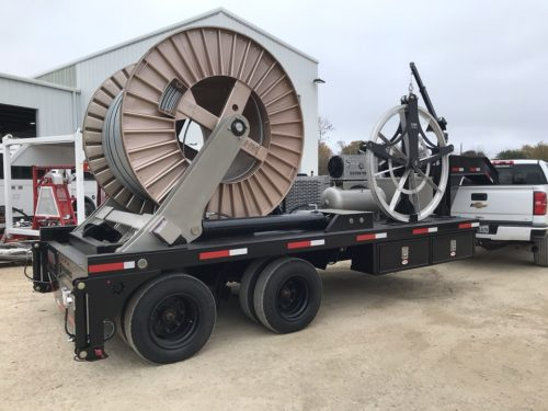 Self Loading ESP Trailer Unit
