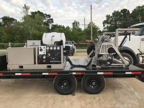 C & C Fluid Power - deluxe strapping trailer