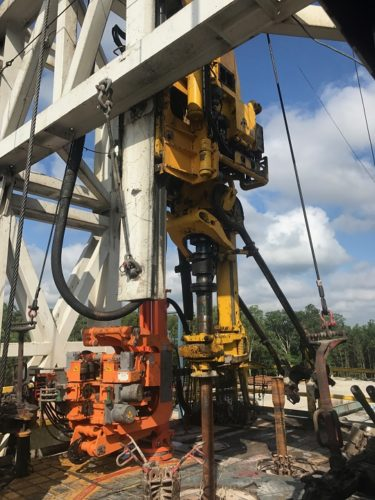 drilling rig service call