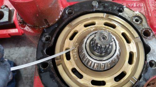 hydraulic pump rebuild