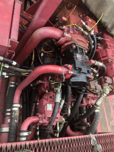 hydraulic system trouble