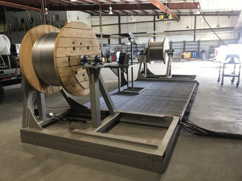 C & C Fluid Power - shop welding system skid